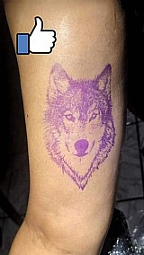Tinta stencil para decalque de tatuagem