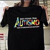 Camiseta do autismo