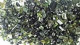 Pedras preciosas turmalina verde pedras 100% natural