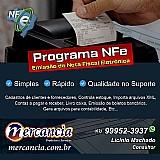 Programa para emissao de nota fiscal eletrônica nfe e nfce