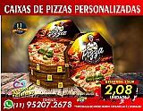 1000 caixas de pizzas 35cm oitavada fotografica 2.08un pizzaria panfletos
