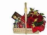 Cesta de chocolate no chora menino-frete gratis (11)2372-7622 ou (11)96467-7399-whatsapp.