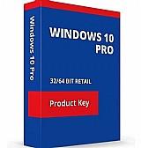 Key windows 10 pro 32/64 bits