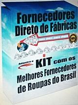 Fornecedores de roupas direto de fabricas do brasil
