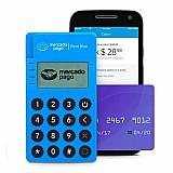 Maquina de cartao de credito point mini blue  mercado pago