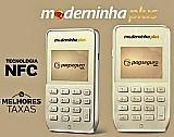 Moderninha plus maquina de cartao entrega gratis curitiba