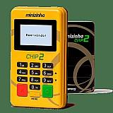 Maquininha de cartao nao precisa celular minizinha chip 2