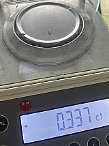 Diamante cvd em bruto 0, 337 quilates