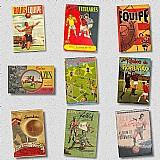 Compro álbuns de figurinhas futebol do ano 1940 ate 1968-pago ate r$2.000, 00 cada