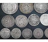 Compro moedas antigas de prata anteriores ao ano 1848-pago r$100, 00 cada