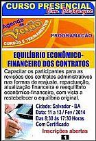 Equilíbrio econômico-financeiro dos contratos administrativo