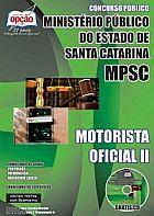 Abriu o concurso ministerio publico / sc motorista oficial