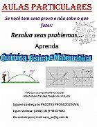 Aulas particulares de quimica, fisica e matematica