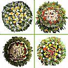 Coroas de flores velorio e cemiterio recanto do paraiso
