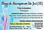 Clinica de massagem terapeutica em sao jose - centro (sc)