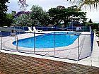 Cerca removivel para piscina- guardia protecoes