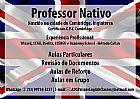 Ingles com professor nativo em sao jose dos campos