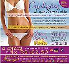 Criolipose - lipo sem corte 15% de desconto