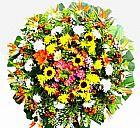 Entrega  de coroas de flores funebres cemiterio da paz bh