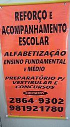 Reforco escolar de portugues e matematica