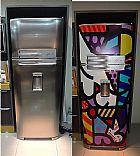 Revestimento em refrigeradores colors