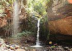 Passeio de quadriciclo trilha cachoeira cristal brotas-sp
