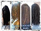 Mega hair - alongamento de cabelo e trança afro