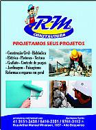 Construtora rm  construã§ao manutenã§ao pintura controle de pragas limpesas etc.