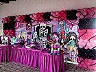 Monster high - tema infantil maria fumaca festas