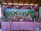 Bonecas jolie - decoracao festa infantil mariafumacafestas