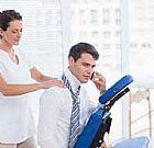 Massagem relaxante para dores muscular