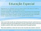 Educacao especial