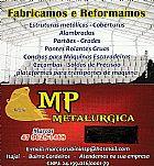 Fabricamos e reformamos estruturas metalicas