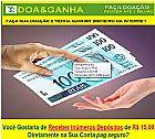 Que tal receber inumeros depositos de 15 reais no seu page s