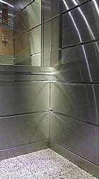 Decoracao em elevadores e protetor de elevador