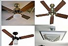 Instalacao de ventiladores de teto ou parede