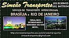 Mudancas brasilia x rio de janeiro