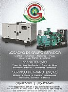 Manutenção de gerador - manutenção preventiva, corretiva e mensal em grupo gerador