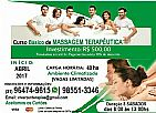 Curso de massagem