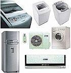 Consertos de geladeiras e maquinas de lavar.