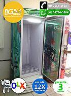 Expositor, metal frio 580 litros
