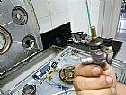 Manutencao de fogao e vazamento de gas