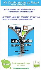 Kit combo email marketing 2017 profissional