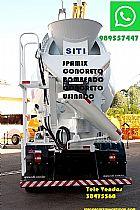 Servico de concreto bombeado caminhao betoneira taquara