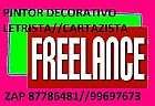 Letrista  e  cartazista  e  pintor  decorativo