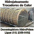 Hidrojateamento trocador de calor