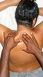 Black massoterapeuta - masseur