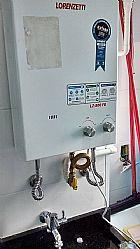 Manutencao e instalacao de aquecedores