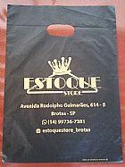Sacolas personalizadas 30 x 40 x 0,08 em 1 cor 1.000 pecas