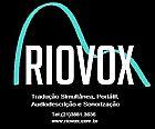 Riovox traducao simultanea, sonorizacao, audiodescrcao